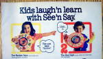 Click to view larger image of 1982 Mattel Toys with The See & Say Series (Image2)