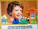 Click to view larger image of 1982 Playskool Toys with Village Blocks & Little Boy (Image2)