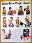 Click to view larger image of 1983 Fisher Price Magic Show with Boy Doing Many Tricks (Image1)