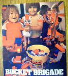 Click to view larger image of 1983 Entex Loc Blocs with Children & Bucket Of Blocks (Image2)