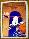 Click to view larger image of 1997 Metropolitan Life with Snoopy & Basketball (Image1)