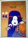 Click to view larger image of 1997 Metropolitan Life with Snoopy & Basketball (Image2)