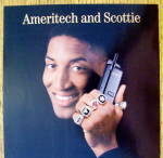 Click to view larger image of 1997 Ameritech with Chicago Bull's Scottie Pippen (Image1)
