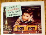 Click to view larger image of 1936 Cream of Wheat Cereal with Boy Day Dreaming (Image2)