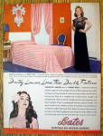 Click to view larger image of 1944 Bates Bedspreads with Dorothy Lamour (Image1)