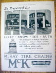 Click to view larger image of 1926 McKay Tire Chains with 2 Cars (Image2)