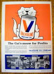 Click to view larger image of 1968 Valvoline Motor Oil with Cat's Meow (Image1)