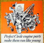 Click to view larger image of 1968 Perfect Circle Engine Parts with Tow Truck (Image2)