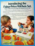 1979 Fisher Price Kitchen Set with Children