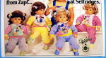 Click to view larger image of 1986 Zapf Dolls with Little Girl and 4 Dolls (Image2)