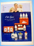 Click to view larger image of 1959 Old Spice with Man and Family for Father's Day (Image1)