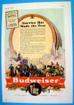 1936 Budweiser Beer with Variety Of People