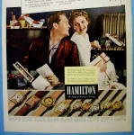Click to view larger image of 1940 Hamilton Watch with couple opening gifts (Image2)