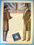 Click to view larger image of 1944 Timely Clothes with Two Men Talking (Image1)