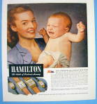 Click to view larger image of 1945 Hamilton Watch with Woman & Crying Baby (Image2)