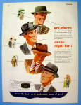 1946 Recognized Hatter with Men Wearing Hats