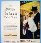 Click to view larger image of 1946 Bulova Watch with Lovely Woman (Image2)