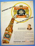 1947 Brewer's Beer with Bottle of Beer