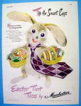 Click to view larger image of 1947 Manhattan Tint Ties with Easter Bunny (Image2)