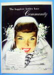 1948 Community Silverplate with Lovely Bride