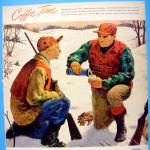 Click to view larger image of 1948 Maxwell House Coffee w/Men Hunting By James Chapin (Image2)