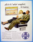 1948 Santa Fe with Man and Woman on El Capitan