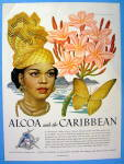 Click to view larger image of 1948 Alcoa Caribbean with Lovely Woman By Artzybasheff (Image1)