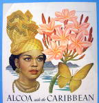 Click to view larger image of 1948 Alcoa Caribbean with Lovely Woman By Artzybasheff (Image2)