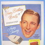 Click to view larger image of 1948 Remington Electric Shaver with Bing Crosby (Image2)