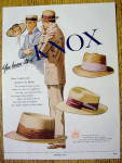 1951 Knox Hats with Straw & Panama Hats
