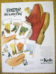1951 U.S. Keds Shoes with Boosters in Colors