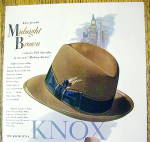 Click to view larger image of 1951 Knox Hats with The Madison Avenue Hat (Image2)