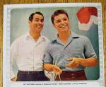 Click to view larger image of 1954 Van Heusen Sports Shirts with Guy Mtchell (Image2)