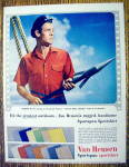 1954 Van Heusen Sport Shirt with Robert Ryan