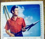 Click to view larger image of 1954 Van Heusen Sport Shirt with Robert Ryan (Image2)