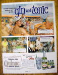 Click to view larger image of 1954 Canada Dry Quinac with Gin And Tonic (Image1)