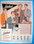 1954 Lakeland Sports Wear With Fashion Fraternity
