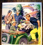 Click to view larger image of 1954 Mission Valley Fabrics With Men In Shirtings (Image2)
