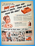 Click to view larger image of Vintage Ad: 1949 Dial Soap (Image1)