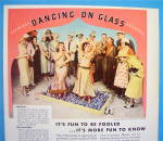Click to view larger image of 1933 Camel Cigarettes with Women Dancing on Glass (Image3)