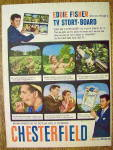 1958 Chesterfield Cigarettes with Eddie Fisher