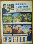 Click to view larger image of 1958 Chesterfield Cigarettes with Eddie Fisher (Image3)