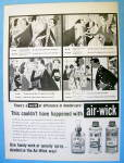 1958 Air Wick Deodorizer with Cartoon