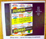 Click to view larger image of 1963 Kellogg's Jumbo Pack with 18 Boxes Of Cereal (Image2)