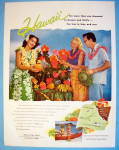 1955 Hawaii with Couple and Hawaiian Girl