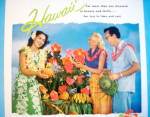 Click to view larger image of 1955 Hawaii with Couple and Hawaiian Girl (Image2)