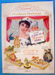 1956 Coty Perfume with Woman and Puppet