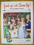 Click to view larger image of 1953 Seven Up (7Up) with Children In Costumes (Image2)
