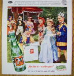 Click to view larger image of 1953 Seven Up (7Up) with Children In Costumes (Image3)