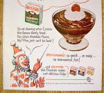 Click to view larger image of 1953 My-T-Fine Pudding with Circus Clown (Image2)